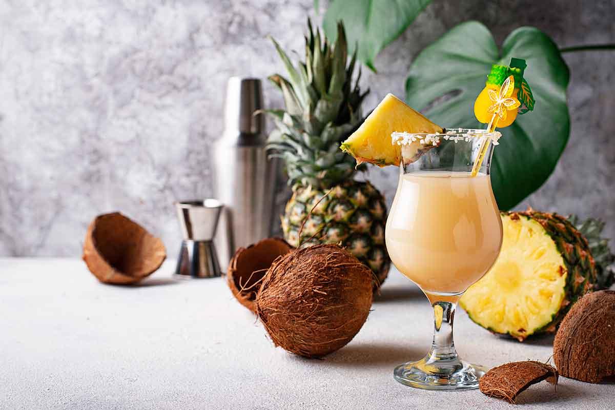 Kokteilis Pina Colada