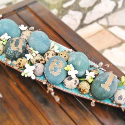 Lieldienu olas - skaisti zilas