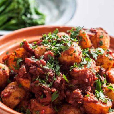 Kartupeļi spāņu gaumē