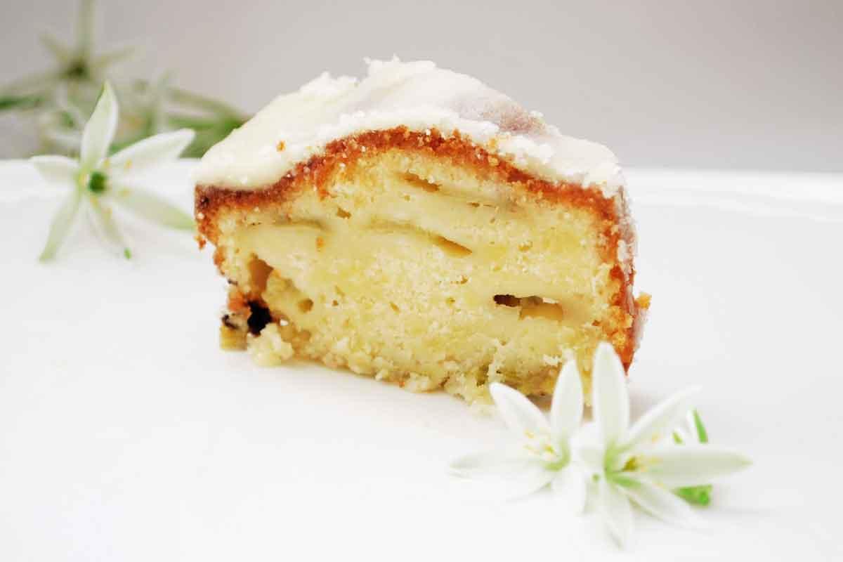 Citronu rabarberu kūka