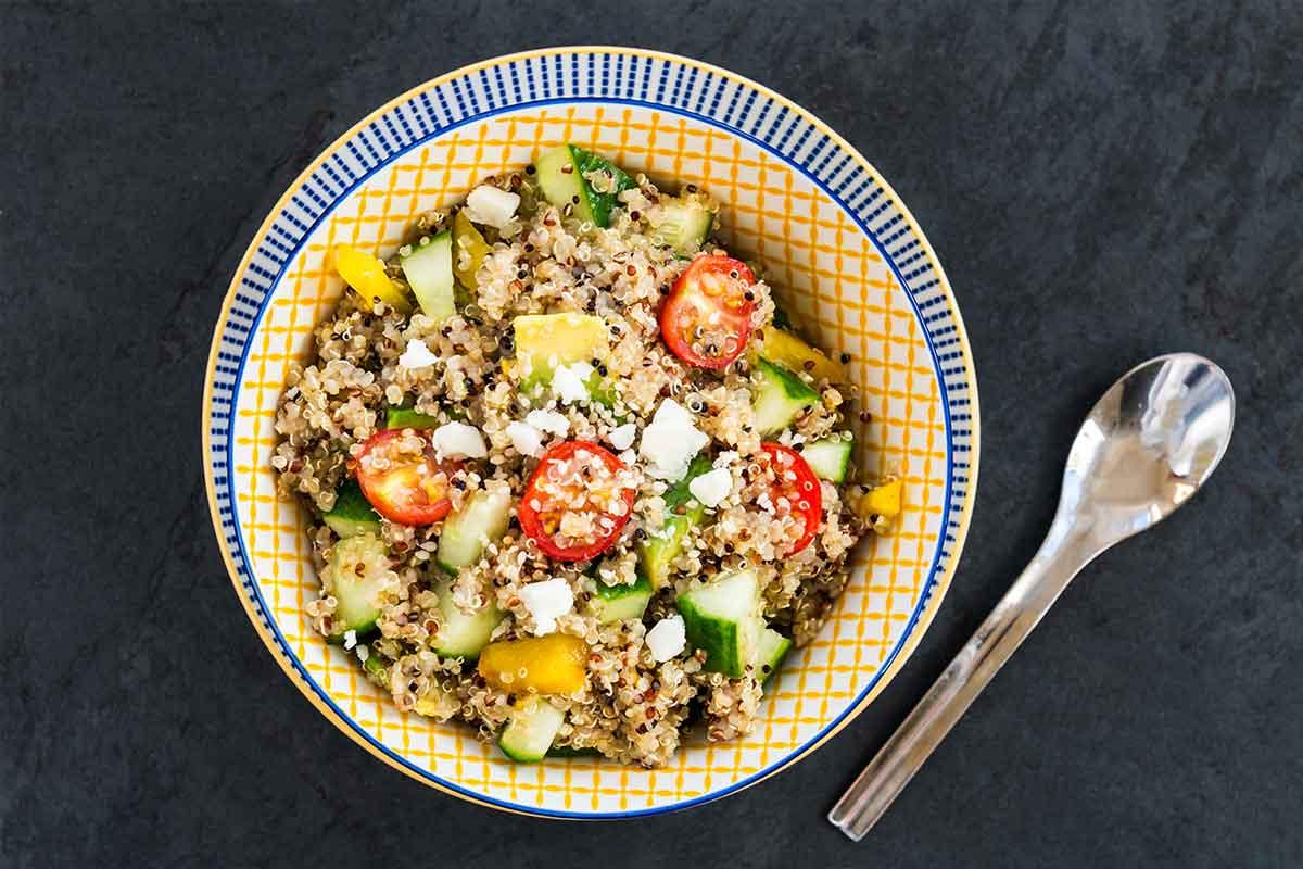 Kvinojas salāti