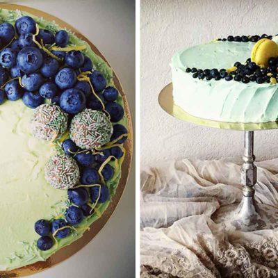 Melleņu citronu kūka